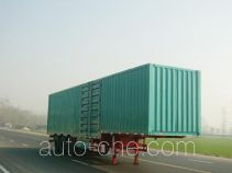 Huayuda box body van trailer