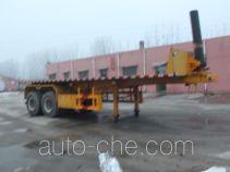 Hualiang Tianhong LJN9350ZZXP flatbed dump trailer
