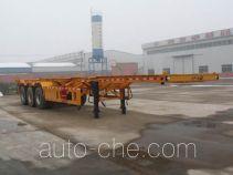 Hualiang Tianhong LJN9400TWY dangerous goods tank container skeletal trailer