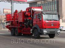 Lankuang LK5253THS360 sand blender truck