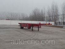 Kunbo empty container transport trailer