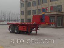Kunbo LKB9350ZZXP flatbed dump trailer