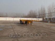 坤博牌LKB9401TJZ型集装箱运输半挂车