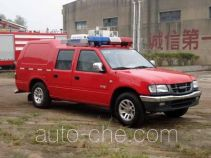 Tianhe LLX5023GXFSG02XW fire tank truck