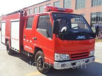 Tianhe LLX5064GXFSG20/L fire tank truck
