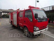 Tianhe LLX5074GXFSG30/L fire tank truck