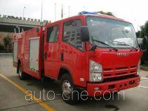 Tianhe LLX5103GXFSG40L fire tank truck