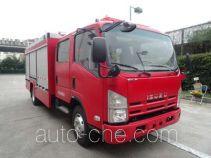 Tianhe LLX5104GXFSG40/L fire tank truck