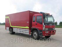 天河牌LLX5110TXFHJ108型化学事故抢险救援消防车