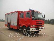 天河牌LLX5123TXFHJ108U型化学事故抢险救援消防车