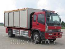 天河牌LLX5133TXFZX37L型自装卸式消防车