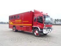 Вспомогательный пожарный автомобиль