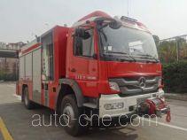 天河牌LLX5134TXFJY80/B型抢险救援消防车