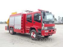 Tianhe LLX5134TXFJY80/L fire rescue vehicle