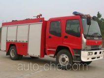 Tianhe LLX5152GXFSG50A fire tank truck
