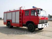 Tianhe LLX5153GXFSG55D fire tank truck