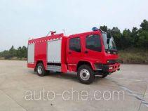 Tianhe LLX5153GXFSG60L fire tank truck