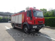 Tianhe LLX5155GXFGL30/Y dry water combined fire engine
