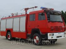 Tianhe LLX5160GXFPF40X foam powder combined fire engine