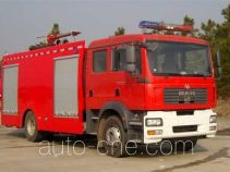 Tianhe LLX5160GXFPM70M foam fire engine