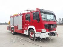 Tianhe LLX5164TXFJY90/H fire rescue vehicle