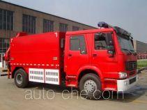 Tianhe LLX5173GXFSG30H fire tank truck