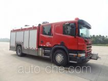 Tianhe LLX5184GXFPM40/S foam fire engine