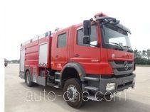 Tianhe LLX5184GXFSG60/B пожарная автоцистерна