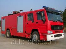 Tianhe LLX5190GXFPM70HM foam fire engine
