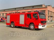Tianhe LLX5193GXFAP70H class A foam fire engine