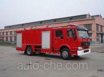Tianhe LLX5193TXFGF40H пожарный автомобиль порошкового тушения