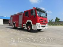 Tianhe LLX5204GXFPM80/HM foam fire engine