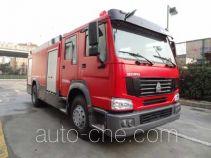 Tianhe LLX5204GXFSG80/HM fire tank truck
