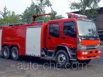 Tianhe LLX5220GXFSG100 fire tank truck