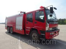Tianhe LLX5234GXFPM100/L foam fire engine