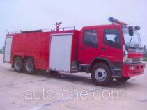 Tianhe LLX5240GXFSG120ZD fire tank truck