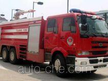 Tianhe LLX5250GXFSG100U fire tank truck