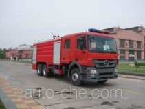 Tianhe LLX5284GXFPM120/B foam fire engine