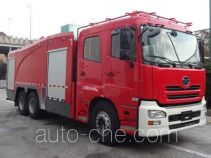 Tianhe LLX5284GXFPM120/U foam fire engine