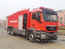 Tianhe LLX5324TXFGP120/M dry powder and foam combined fire engine