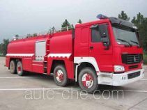 Tianhe LLX5383GXFGY200/H foam fire engine