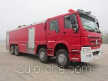 Tianhe LLX5394GXFPM210/H foam fire engine