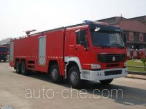 Tianhe LLX5423GXFPM250H foam fire engine