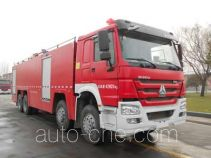 Tianhe LLX5434GXFPM250/H foam fire engine
