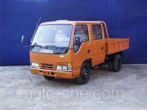 龙马牌LM4010WD型自卸低速货车