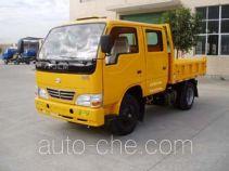 龙马牌LM4010WDA型自卸低速货车
