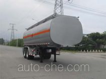 Luping Machinery LPC9350GRYS flammable liquid tank trailer