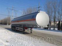 Luping Machinery flammable liquid aluminum tank trailer