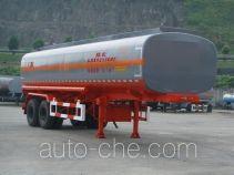 Lushi LSX9252GHY chemical liquid tank trailer