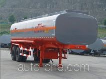 Lushi LSX9300GHY chemical liquid tank trailer